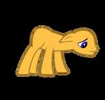 mlp base: Sad Pony