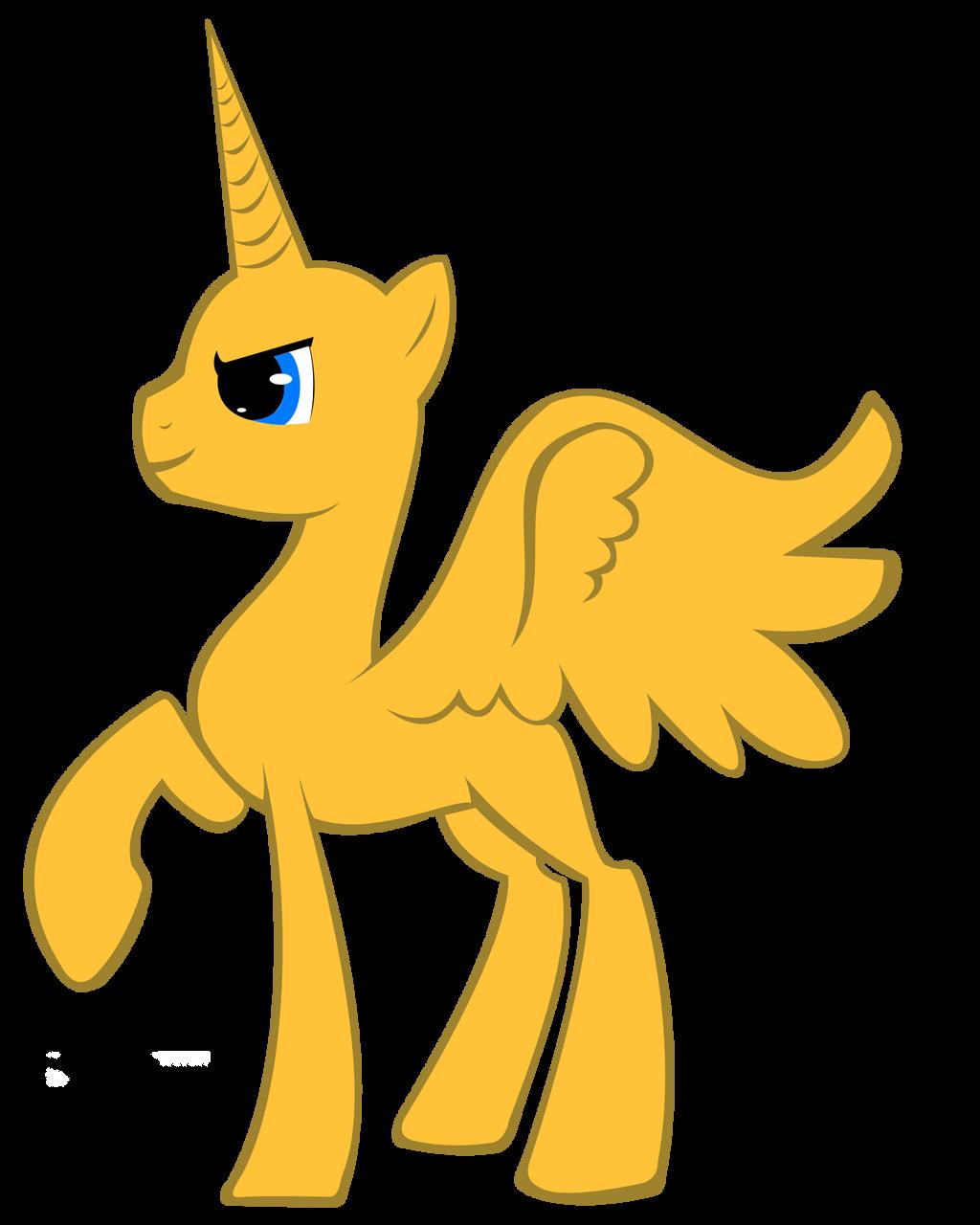 Mlp Base  Male Alicorn by MLP-ScribblesMlp Stallion Alicorn Base
