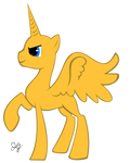Mlp Base:  Male Alicorn