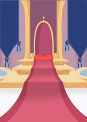 canterlot Throne Room background