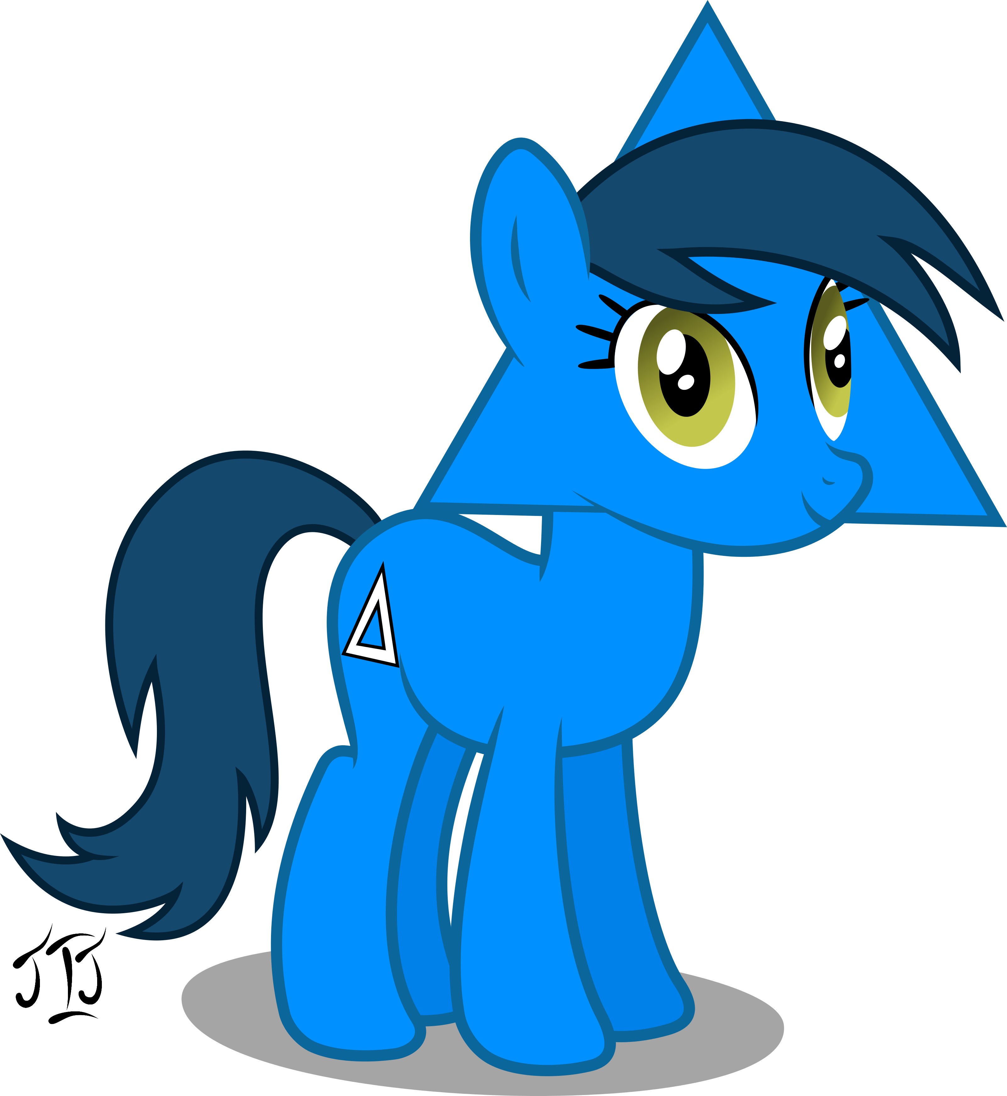 triangle_mare_my_first_ponyscape_vector_