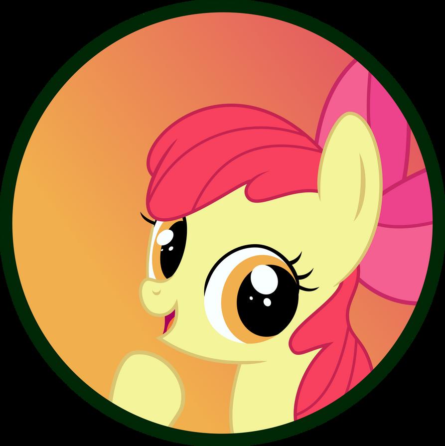 Applebloom Button by MLP-Scribbles