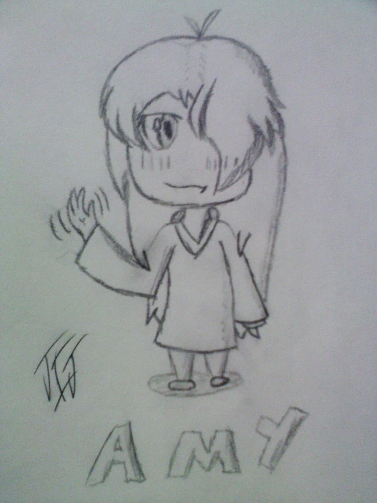 Amy chibi sketch by MLP-Scribbles