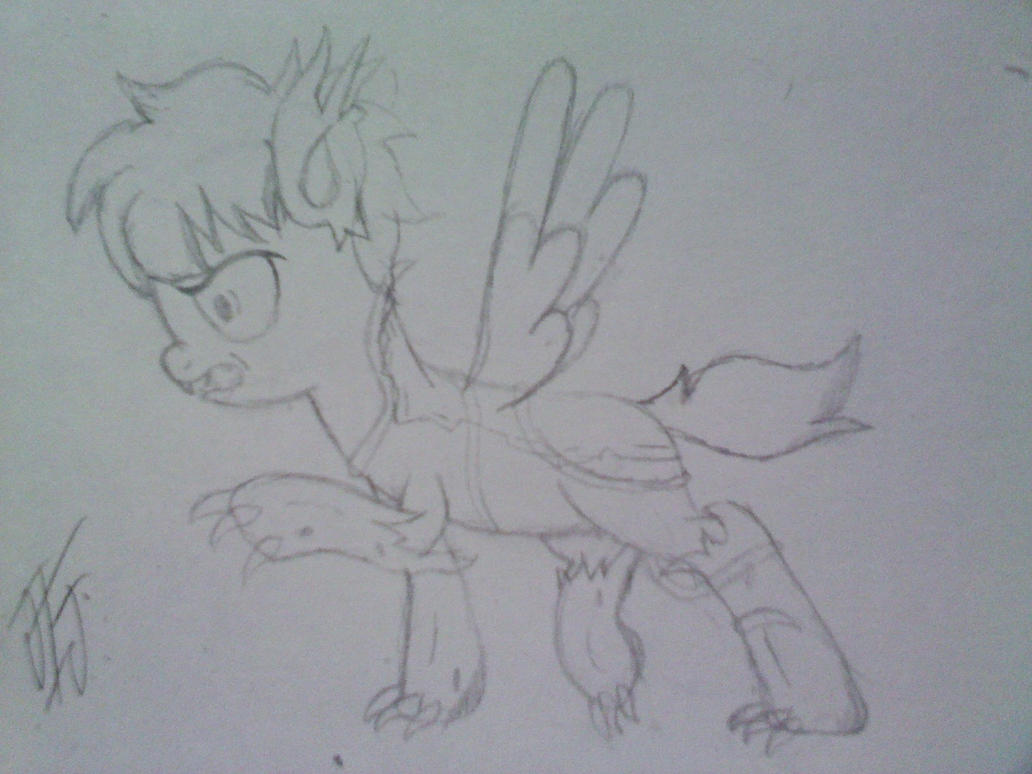 timber scribbles sketch by MLP-Scribbles