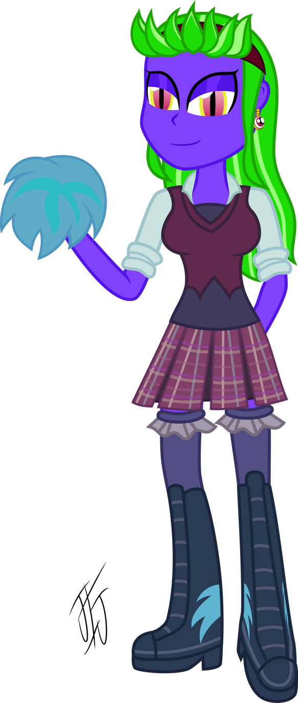 Equestria Girl Bling Bling (shaddow Bolt) by MLP-Scribbles