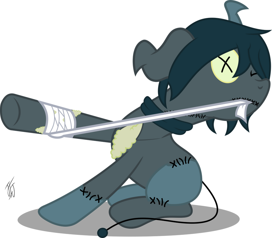 Art Trade With Penpalx3 by MLP-Scribbles