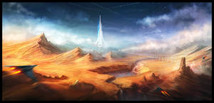 Sci-fi Illustration