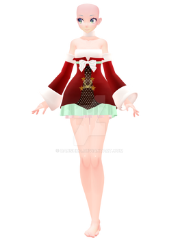 [MMD]- TDA Xmas Outfit Pack WIP
