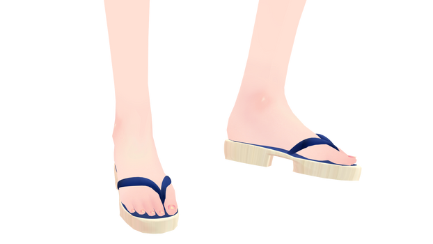 [MMD]- Geta Shoes [+DL]
