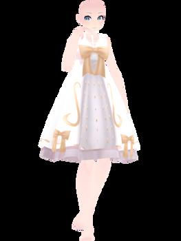 [MMD]- Angelic Dress (Female ver.) [P2UDL]