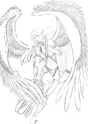 Heavenelf Warrior by justonewing