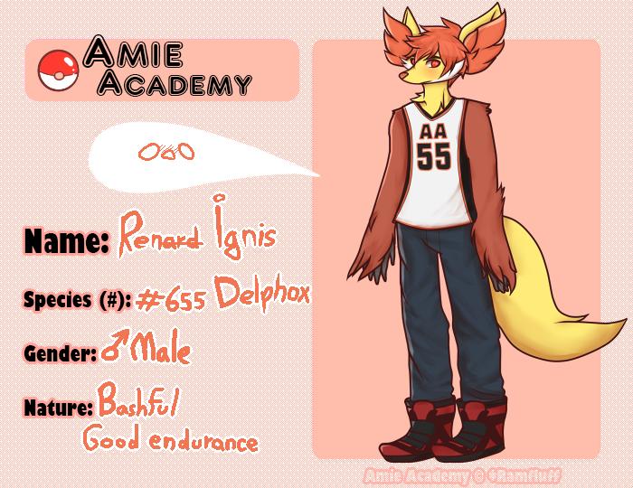 Amie-academy app- Ren by temptingglow