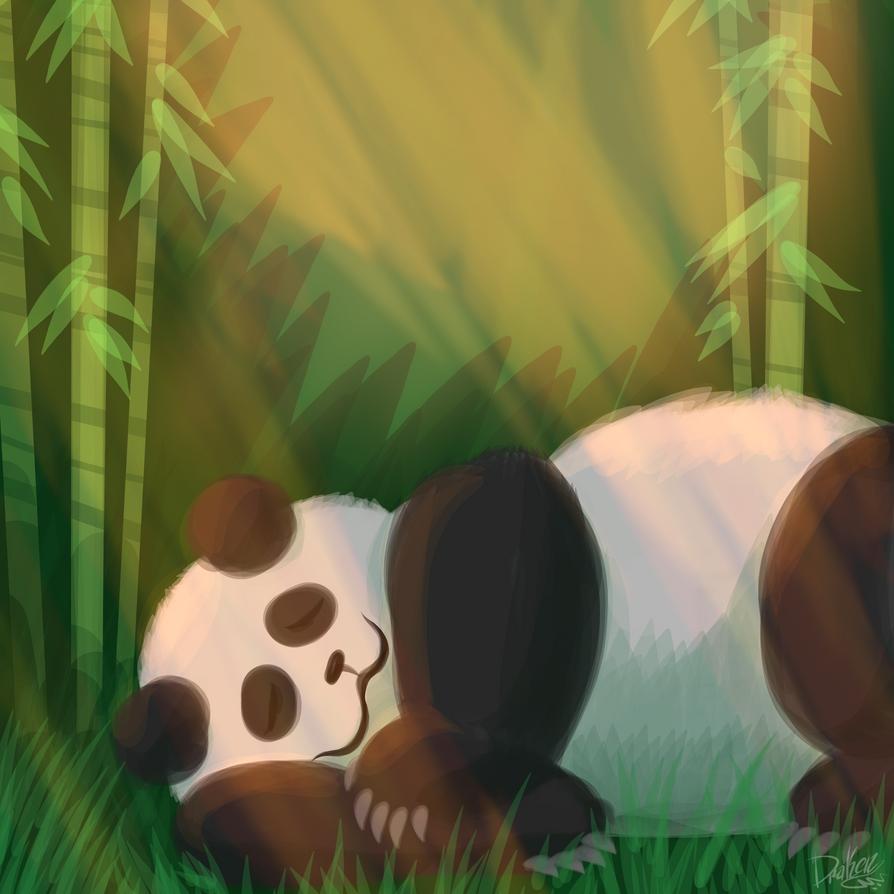 Panda by Drakenknight