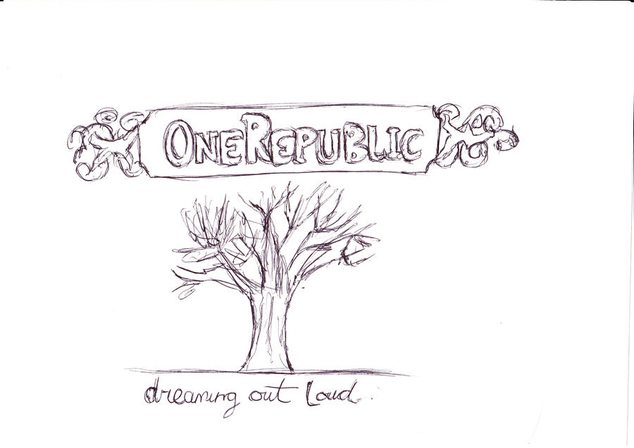 OneRepublic album cover. by tedderxx