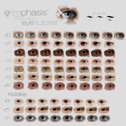 Realistic Eye Tutorial (step by step) by emametlo