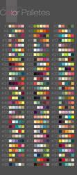 Color Palletes by emametlo
