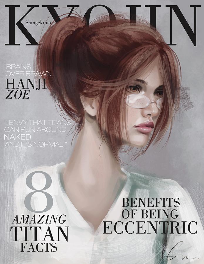 SnK Magazine: Hanji