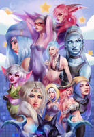 ADC Girlies by emametlo