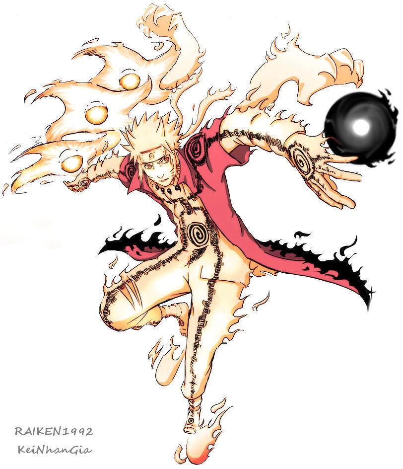 Naruto Chakra Mode by Raiken1992 on DeviantArt