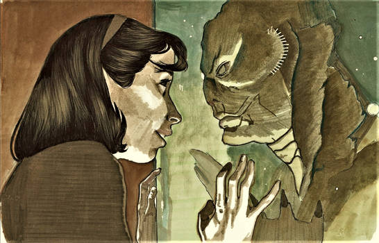 Shape Of Water by artofannabellepullen
