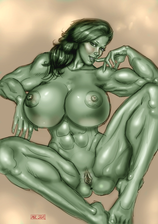 She-Hulk by misterjer