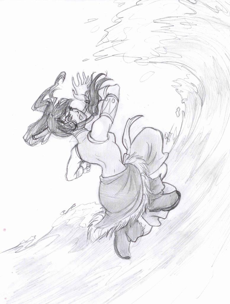 Avatar Korra by BorieBorie