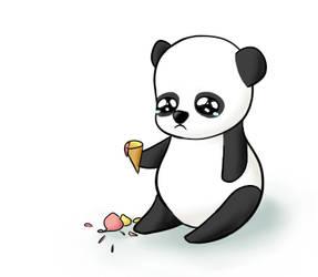 DrawIt - Sad Panda by KleeneOnigiri
