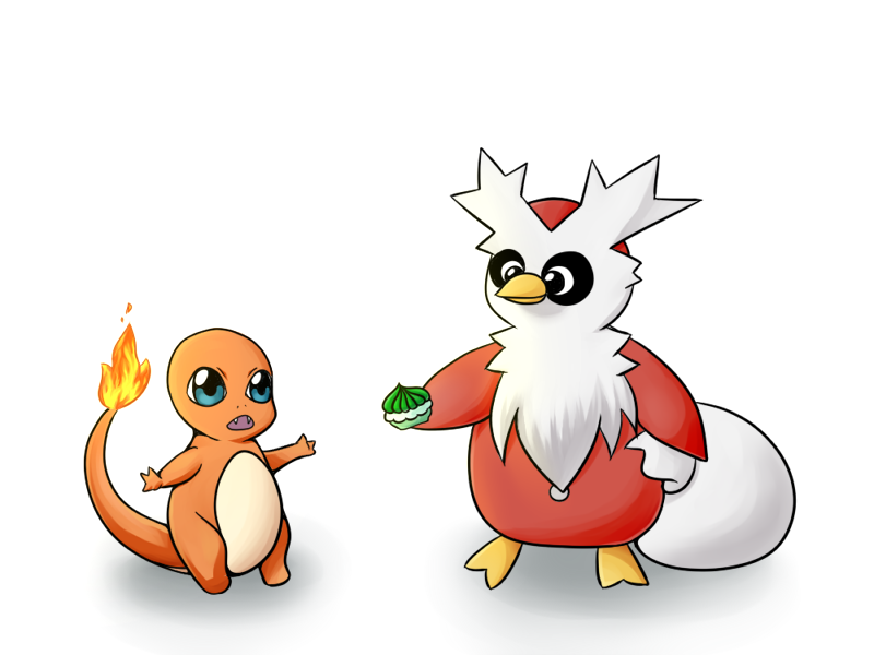 Pokemon Drawing Challenge - Day 1 by KleeneOnigiri