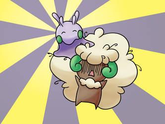 Pokemon Drawing Challenge - Day 3 by KleeneOnigiri