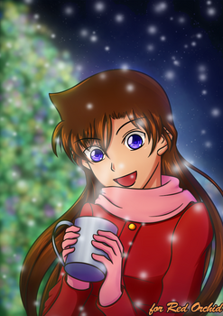 Ran enjoying Christmas - Secret Santa 2016