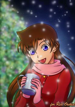 Ran enjoying Christmas - Secret Santa 2016