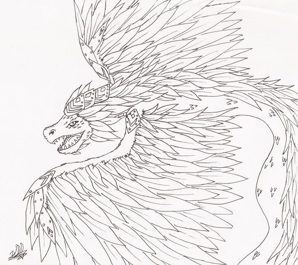 Pin Quetzal Colouring Pages Bird Kids Picture On Pinterest