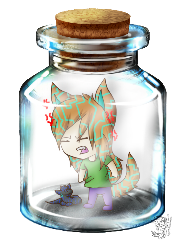 Ingart in a Bottle by ingart15