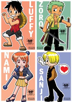 """Manga : """"One Piece"""" One_Piece_chibi_characters_by_sapphirez"""