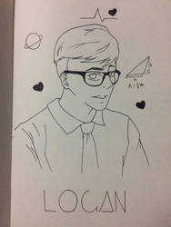 Sander Side: Logan/Logic by HTsukikage