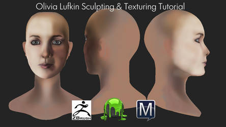 Olivia Lufkin Sculpting and Texturing Tutorial by Linkzelda41
