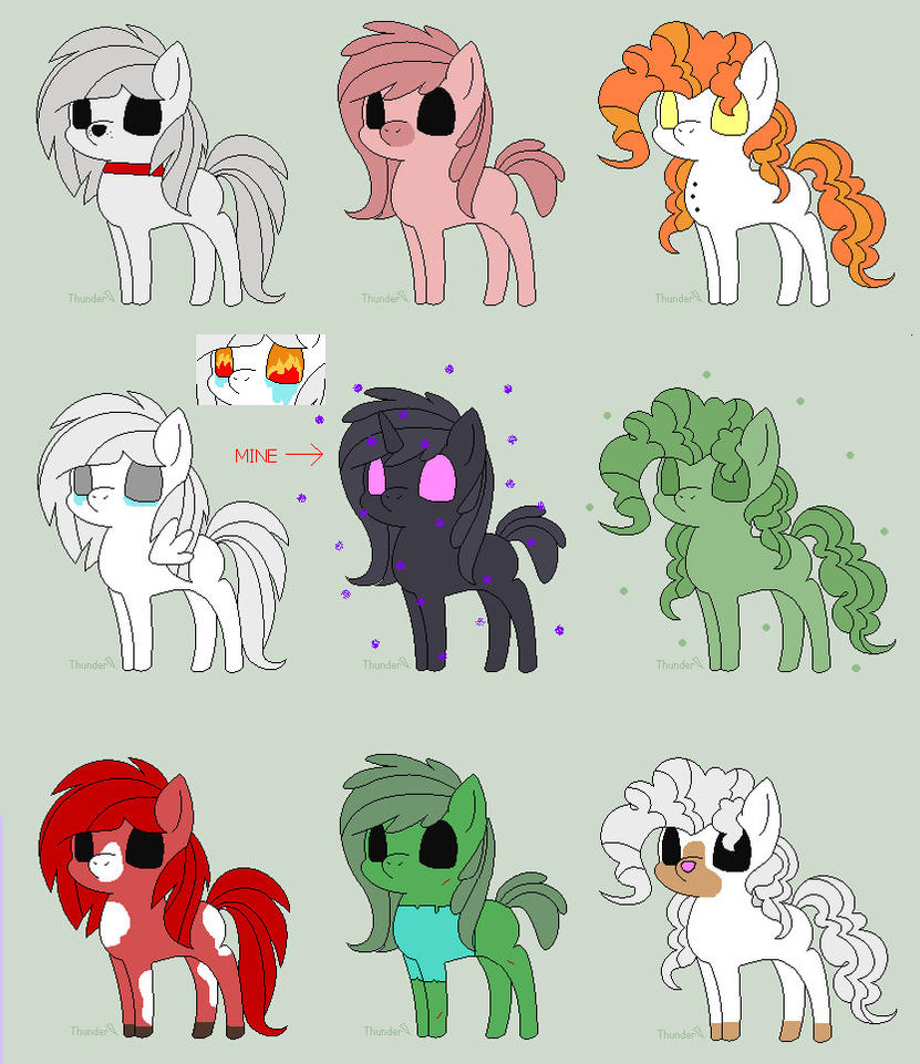 minecraft mlp adopts 49 open by artistpegasus on deviantart