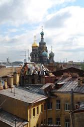 St. Petersburg roofs by ikerizo