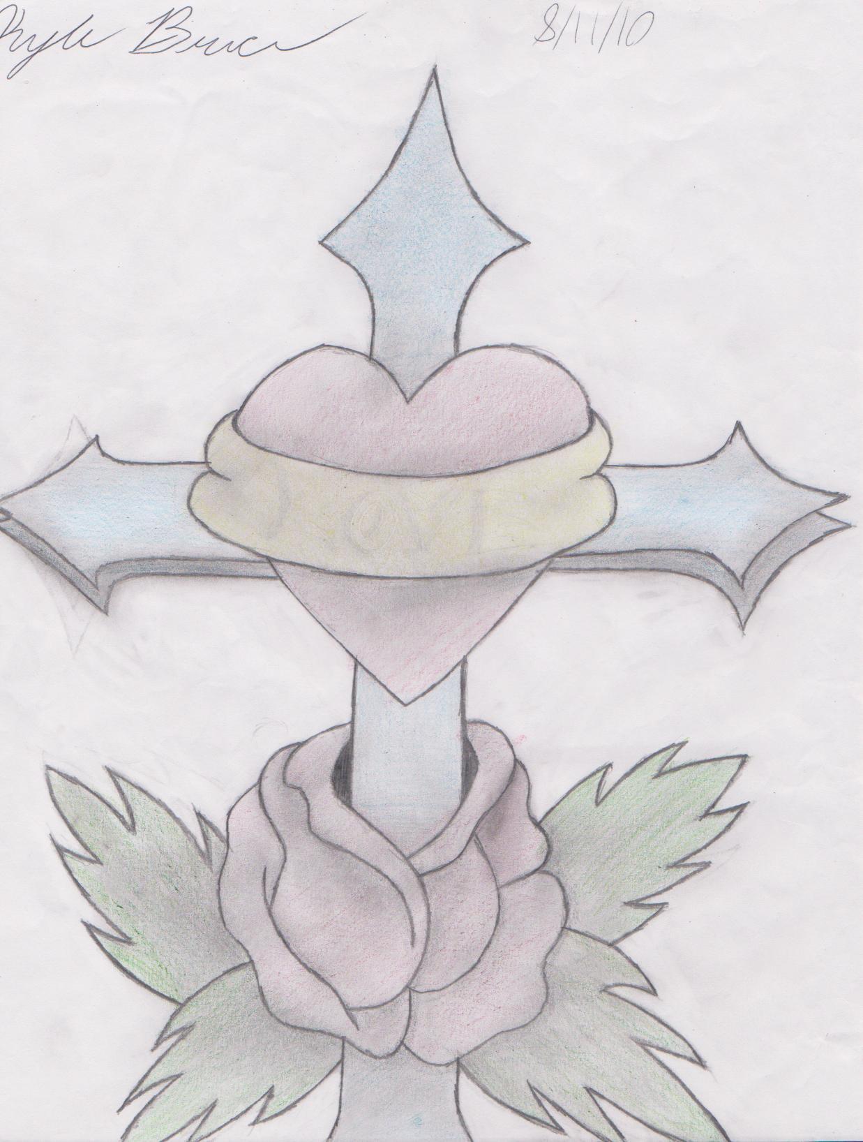 cross...heart...rose t...