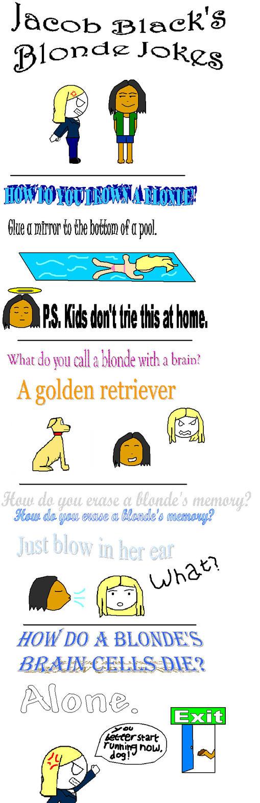 Blonde and the Postman Blonde Jokes Jokes2go
