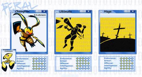 Digimon Lost Morals Evo Sheet