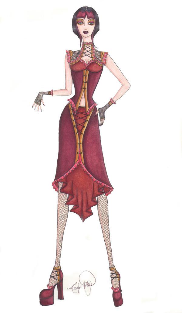 Western Loli Design by ravenstar999