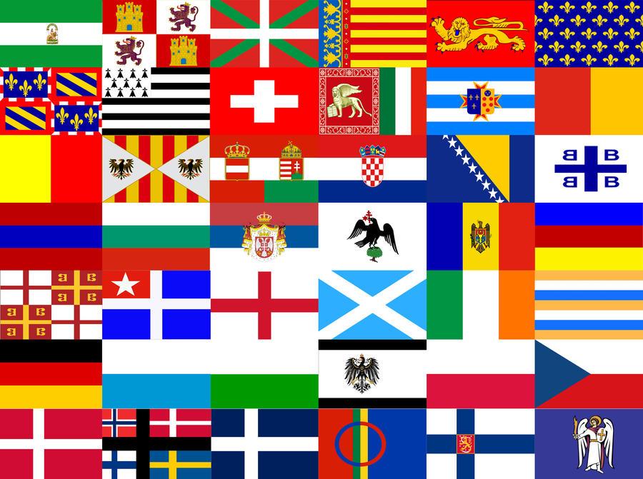 Banderas europeas by Millennium4000 on DeviantArt