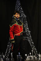Finished Costume (Steampunk Starfleet Officer) by citizenkaneV