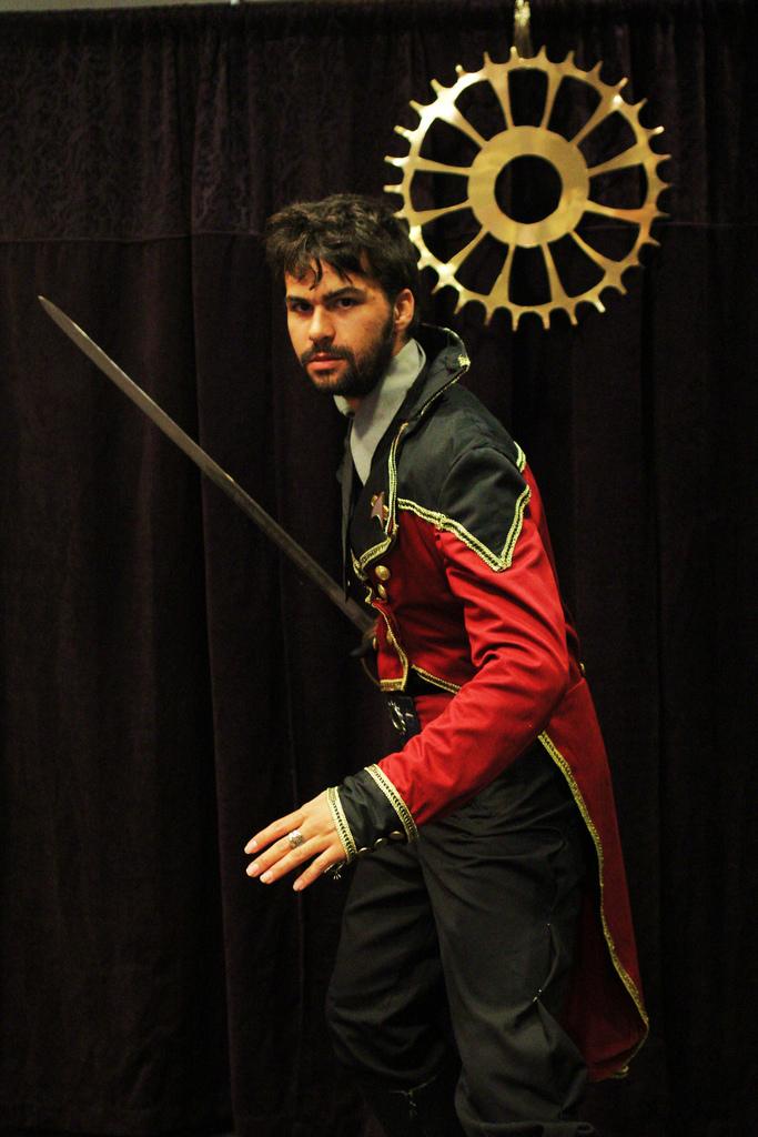 Steampunk Starfleet Uniform by citizenkaneV