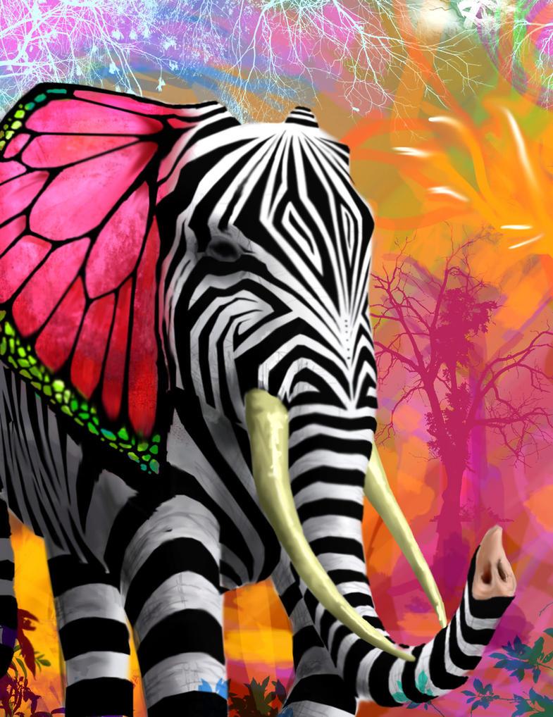 psychedelic fantasy by joecharley