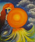 Taivaankannen kantaja - Holder of the sky by Tuliunikko