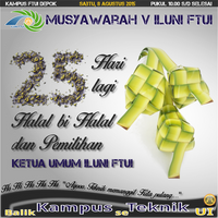 Munas - Countdown - H-25 by nurwijayadi
