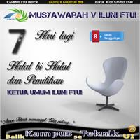 Munas - Countdown - H-7 by nurwijayadi