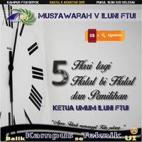 Munas - Countdown - H-5 by nurwijayadi